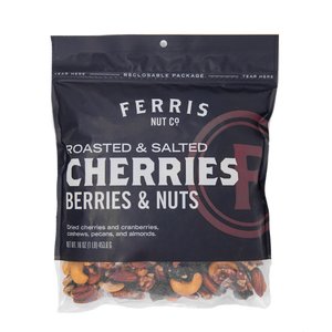 ferris nuts, 16-ounce bag, cherries berries and nuts mix