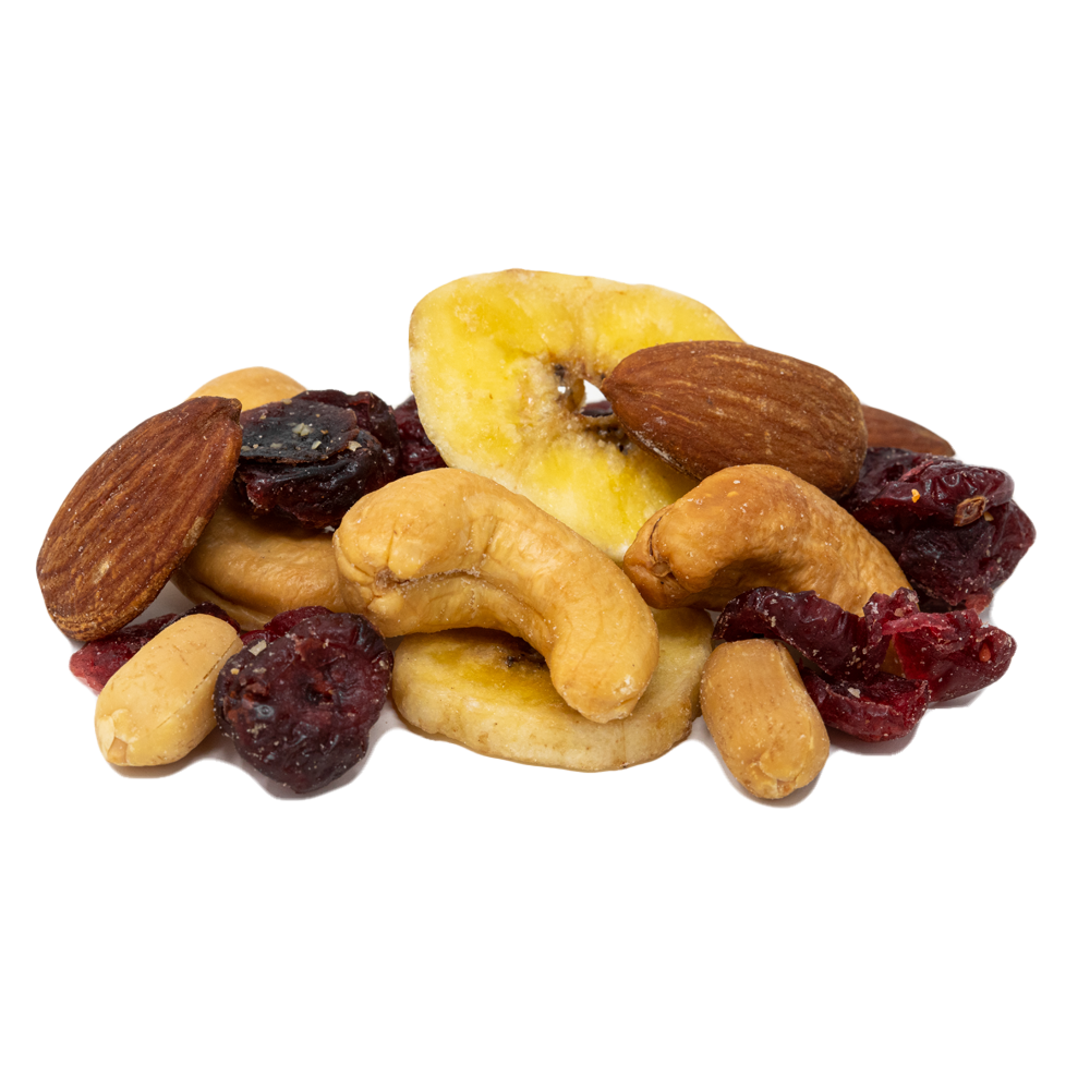 Blueberry Banana Nut Mix (Roasted Salted) 16 oz.