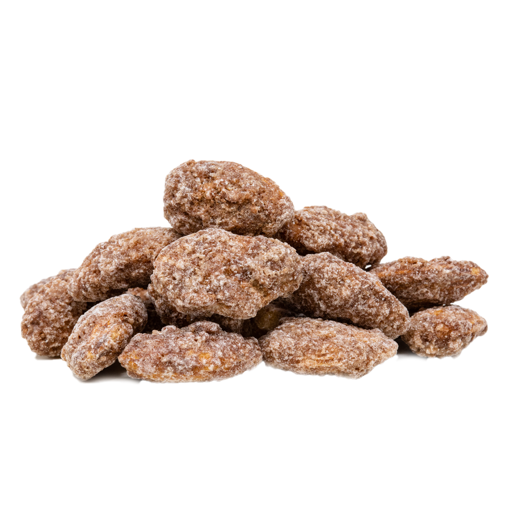 Cinnamon Roasted Almonds 10 oz.