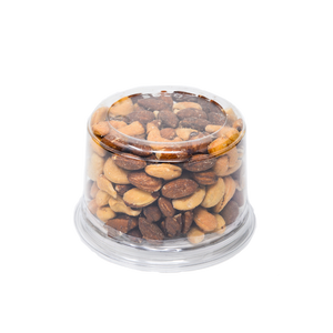 ferris nuts, 10-ounce deli cup, roasted no salt fancy mix