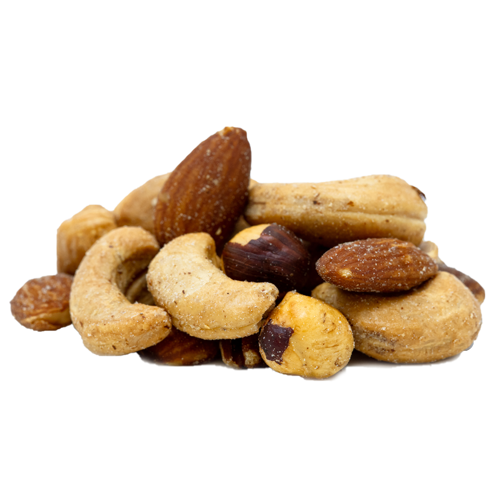 Deluxe Mixed Nuts (Roasted Salted) 10 oz.