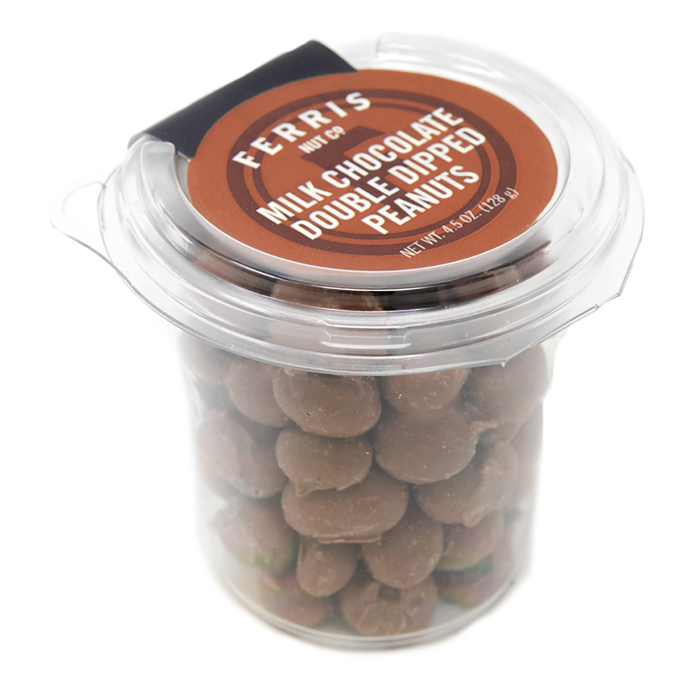 Double Dipped Chocolate Peanuts 5.5 oz.