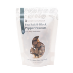 lush gourmet, 3.5-ounce, sea salt black pepper peanuts