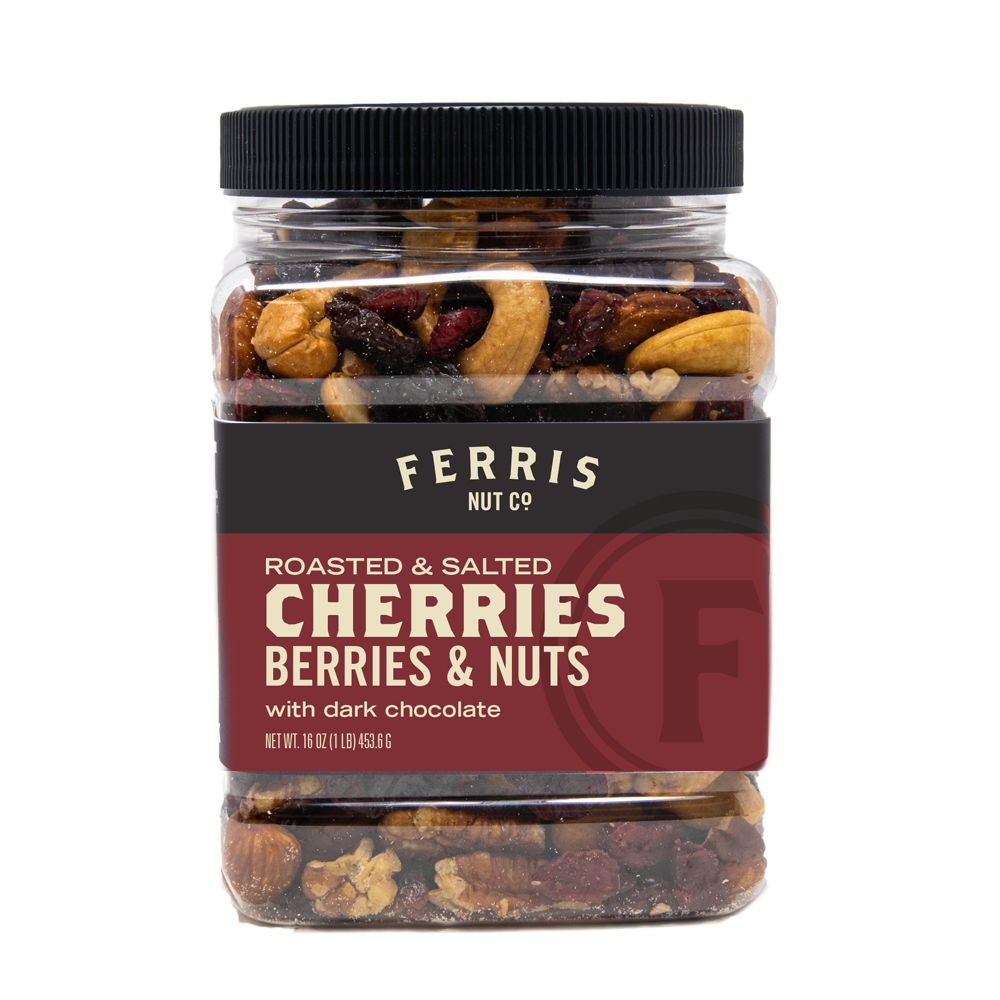 Ferris nuts, cherries, berries, and nuts, 8-ounce