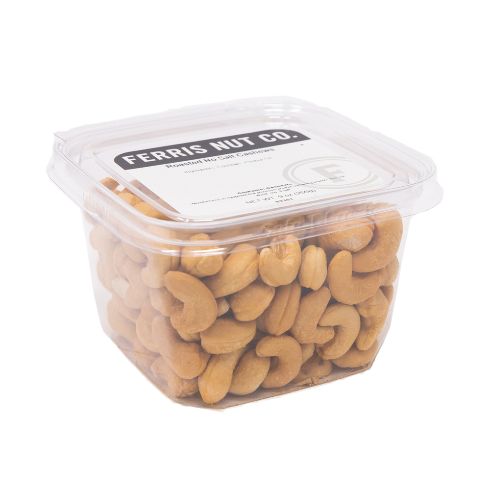 ferris nuts, roasted salted cashews deli cup