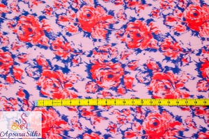"17STK2018(A) - Printed Woven Fabric 100% Polyester 60"" 60GSM - Apsara Silks"