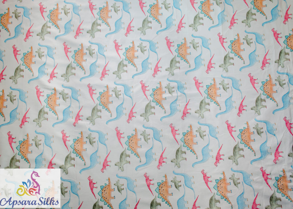 "64STK2018(A) - Printed Woven Fabric Cotton Lycra 54"" 268GSM - Apsara Silks"