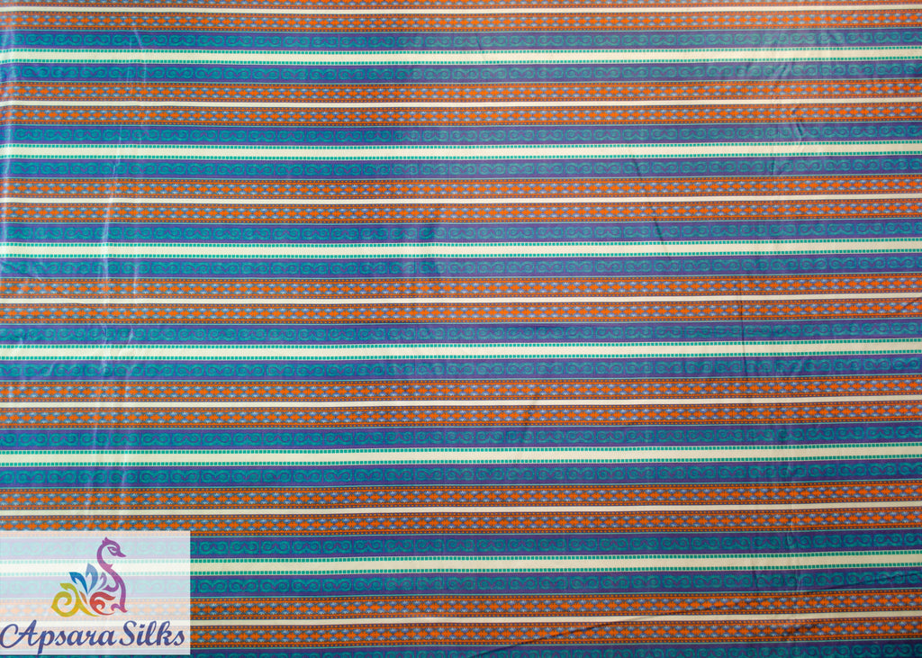 "48STK2018(A) - Printed Woven Fabric 100% Polyester 54"" 145GSM - Apsara Silks"