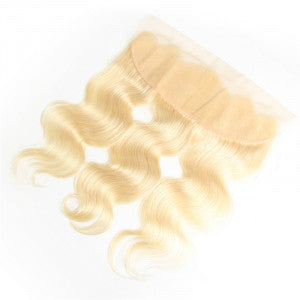 Eurasian Blonde Body Wave Lace Frontal