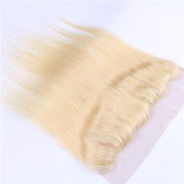 Eurasian Blonde Straight Lace Frontal