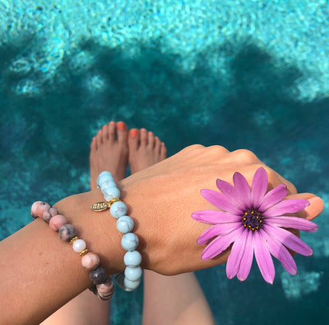 The Pearl Project Bracelet Turquoise Howlite