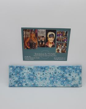 LeeAnnette Snow Flakes with Turquoise and Diamond Clear Swarovski Crystals (Sku4004)