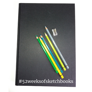 The sketchbooks I love and a new challenge