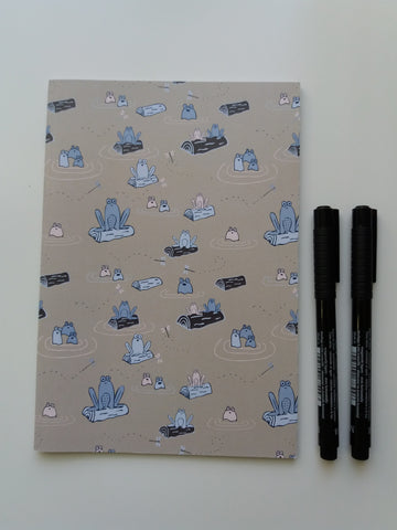 Frog Notebook - Edith May Designs
