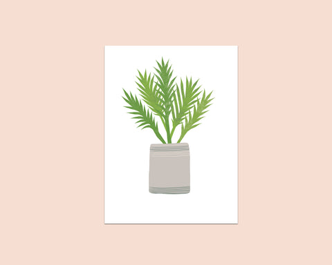 Fern Greeting Card - Edith May Designs