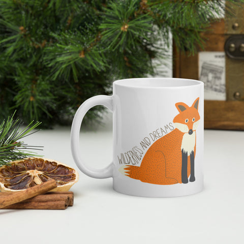 Wilderness and Dreams Fox Mug - Edith May Designs