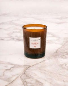 Lola James Harper collaboration kitchen candle.
