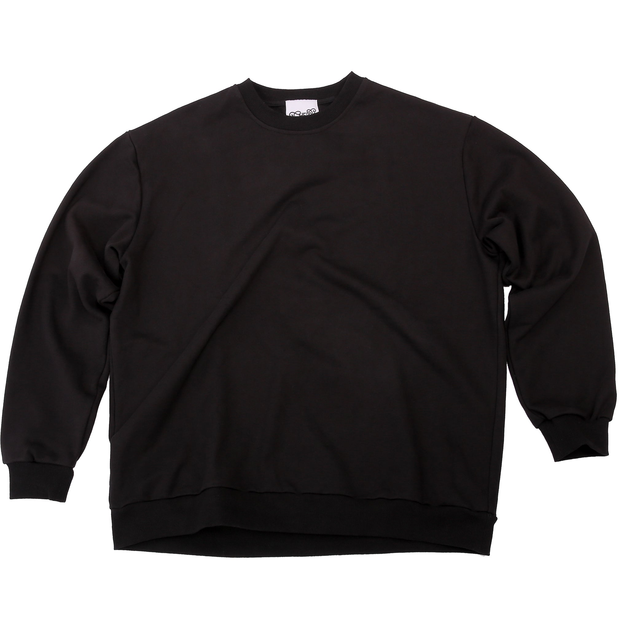 CHERRY DISCOTHEQUE - TOO SAINT SWEATER IN ONYX BLACK