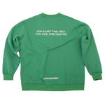 Load image into Gallery viewer, CHERRY DISCOTHEQUE - TOO SAINT SWEATER IN EMERALD GREEN