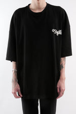 Load image into Gallery viewer, CHERRY DISCOTHEQUE - BIG BOY CUT TOUR TEE IN ONYX