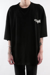 CHERRY DISCOTHEQUE - BIG BOY CUT TOUR TEE IN ONYX