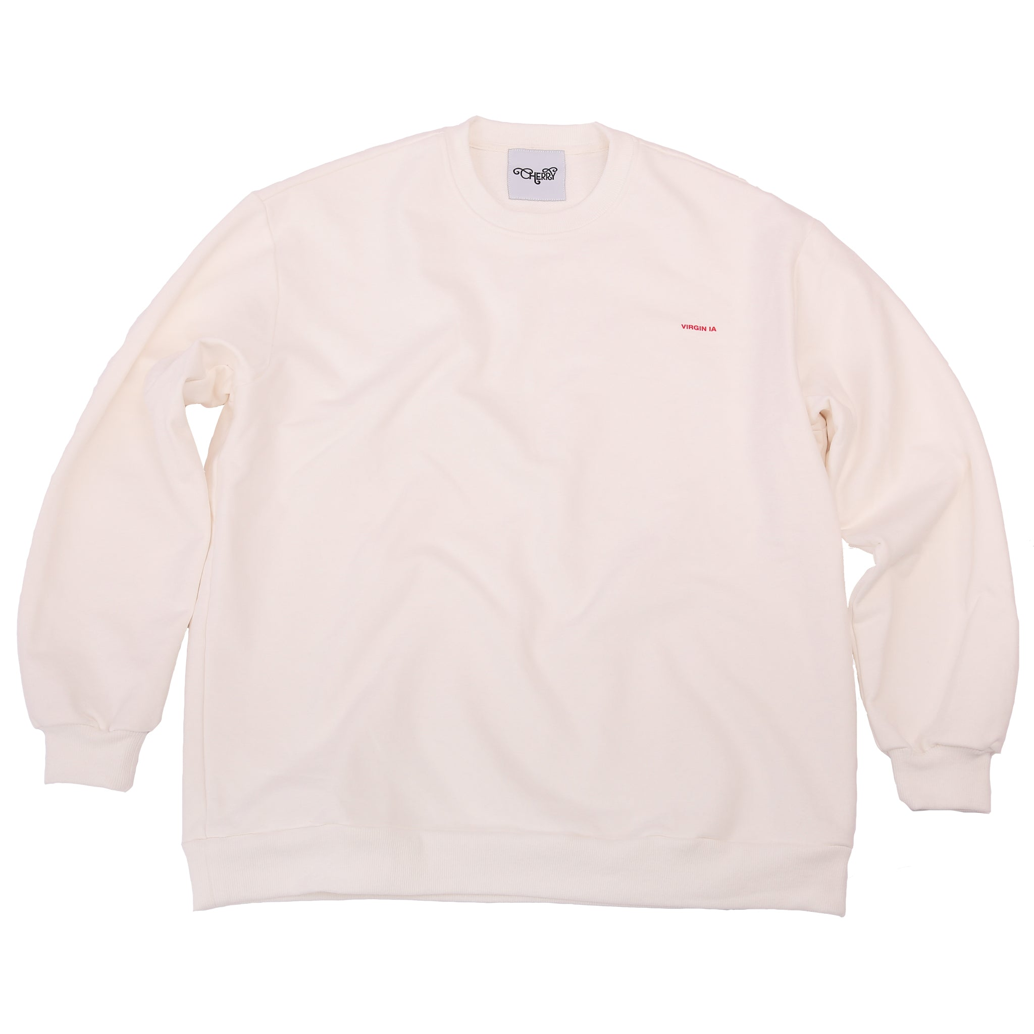 CHERRY DISCOTHEQUE - VIRGIN IA SWEATER IN OFF WHITE