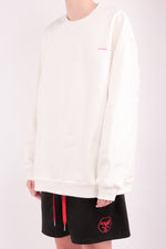 Load image into Gallery viewer, CHERRY DISCOTHEQUE - VIRGIN IA SWEATER IN OFF WHITE