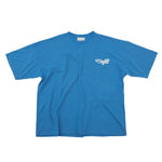Load image into Gallery viewer, CHERRY DISCOTHEQUE - BIG BOY CUT NASA TEE IN COBALT BLUE