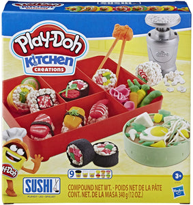 Play Dough Kitchen Creations- Sushi