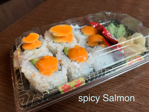 Spicy Salmon Roll (6pcs)