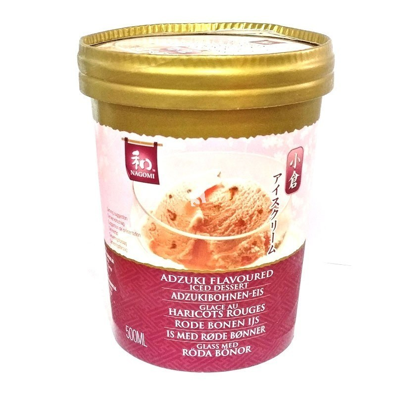 Nagomi Red Bean Icecream 红豆冰淇淋 500ml - Sense Foods