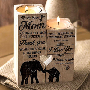 BTT To My Mom Candle Holder