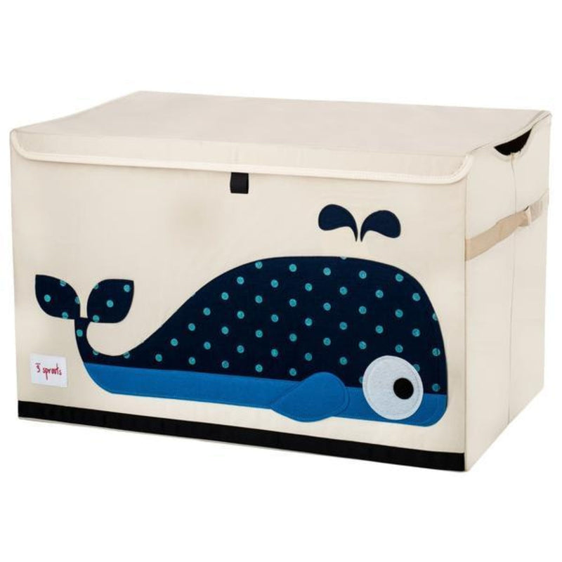 3 Sprouts Blue Whale Storage Chest