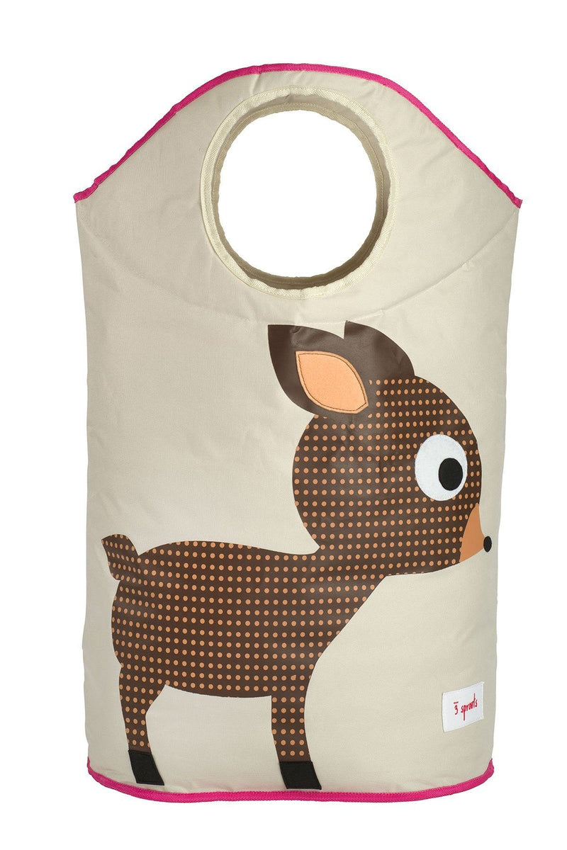 3 Sprouts Deer Laundry Hamper - huggle