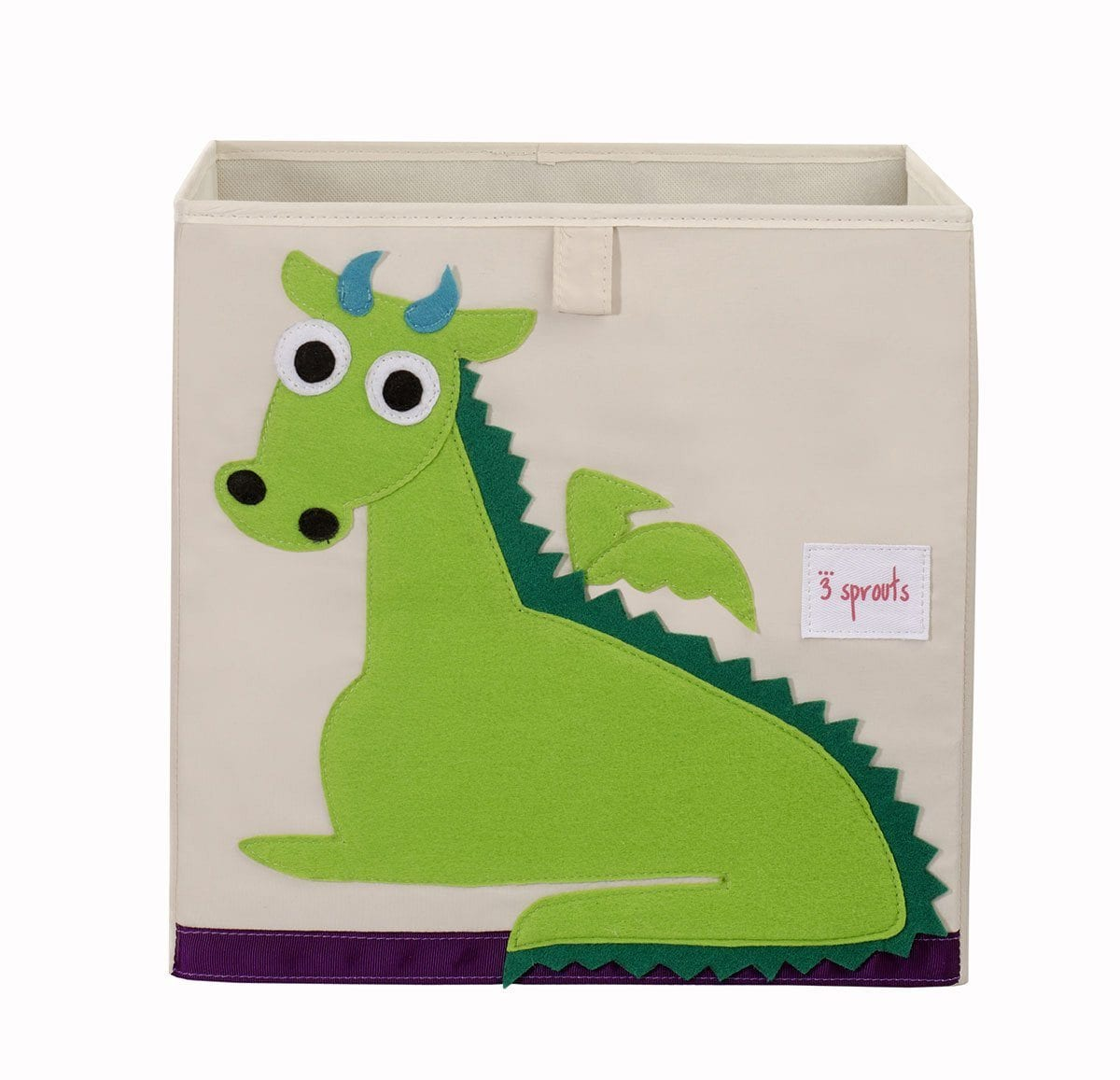3 Sprouts Dragon Storage Box - huggle