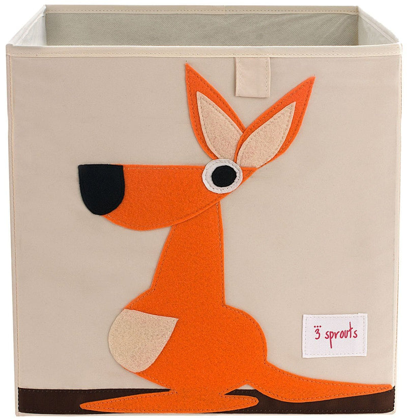 3 Sprouts Kangaroo Storage Box - huggle