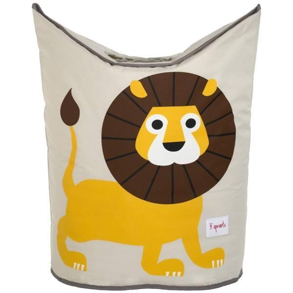 3 Sprouts Lion Laundry Hamper - huggle