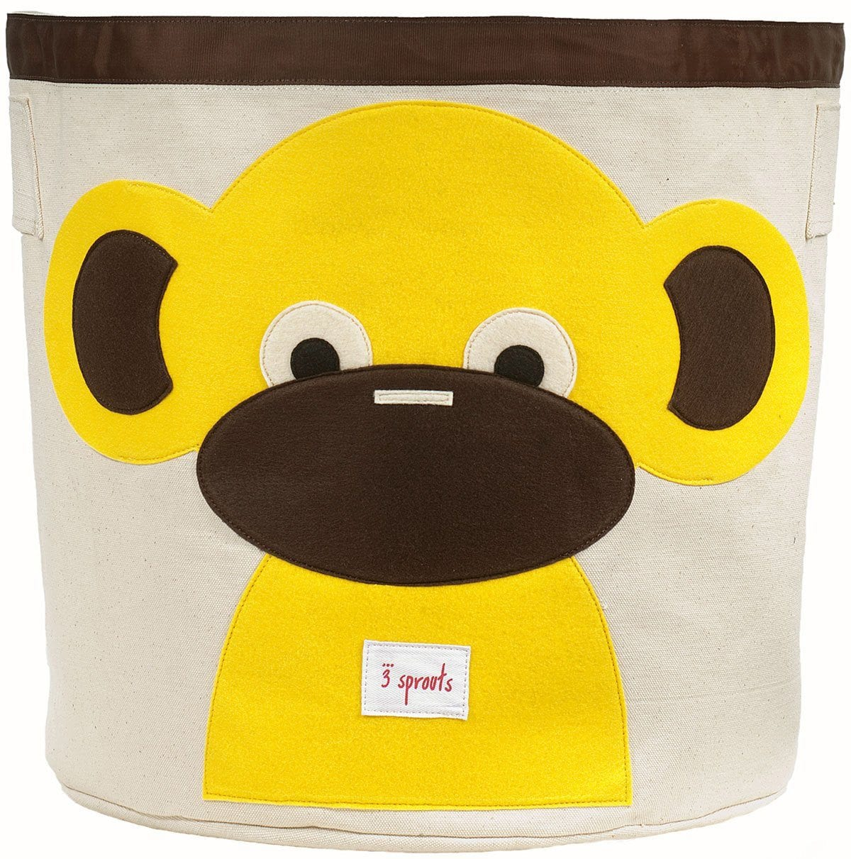 3 Sprouts Monkey Storage Bin - huggle
