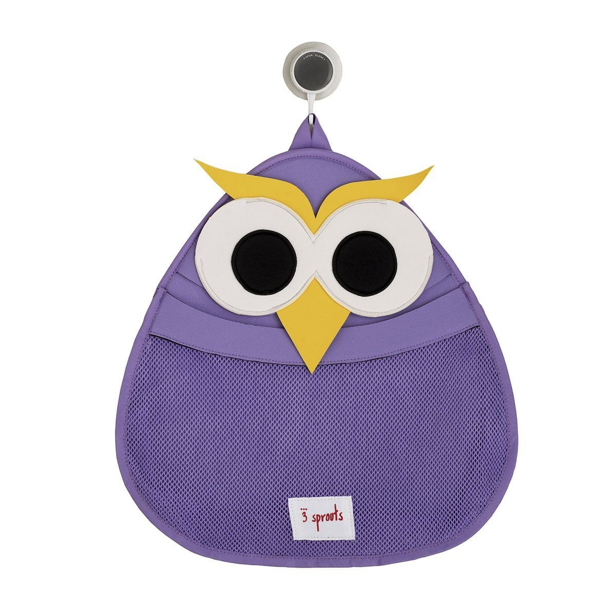 3 Sprouts Owl Bath Storage - huggle