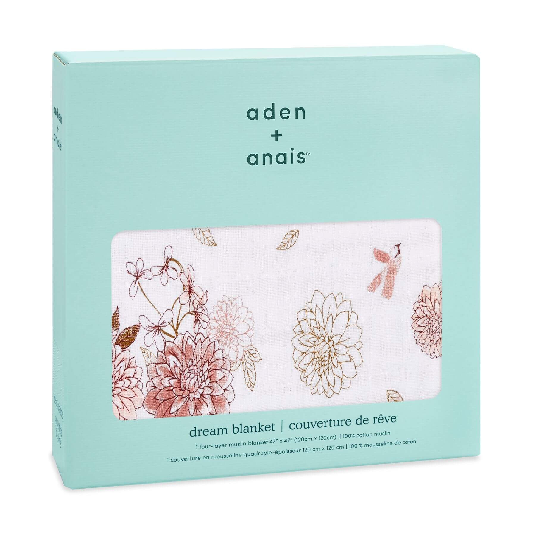 Aden & Anais Classic Dream Blanket - Dalhias
