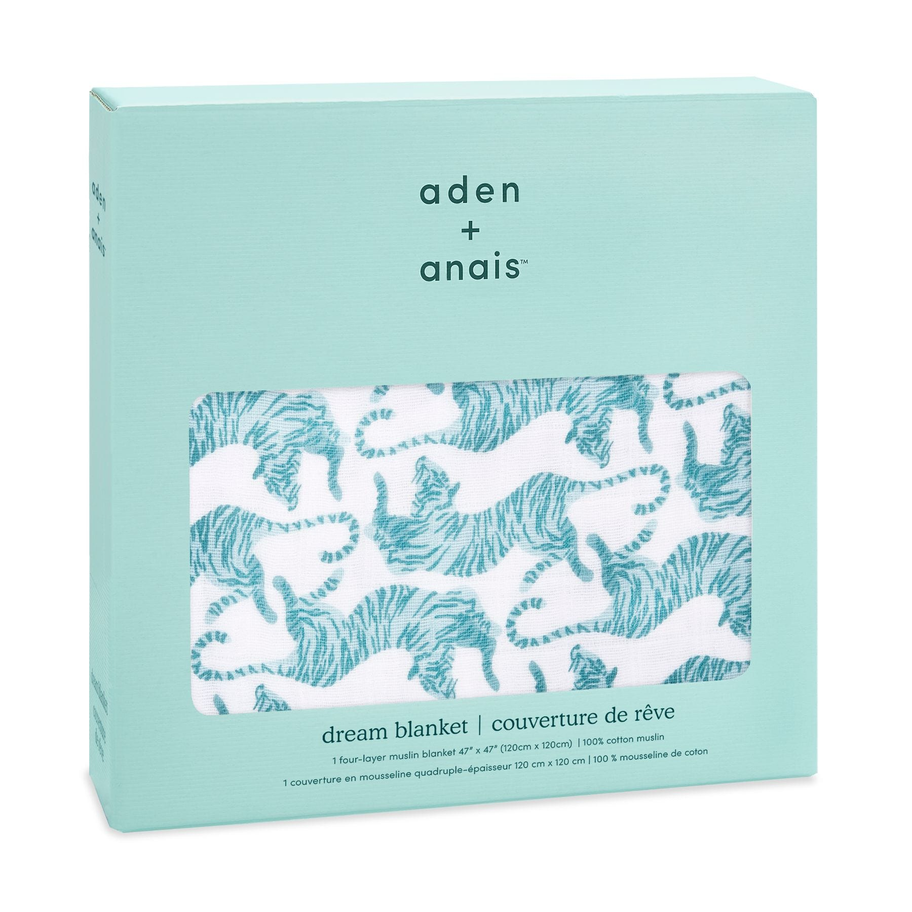 Aden & Anais Classic Dream Blanket - Dancing Tigers
