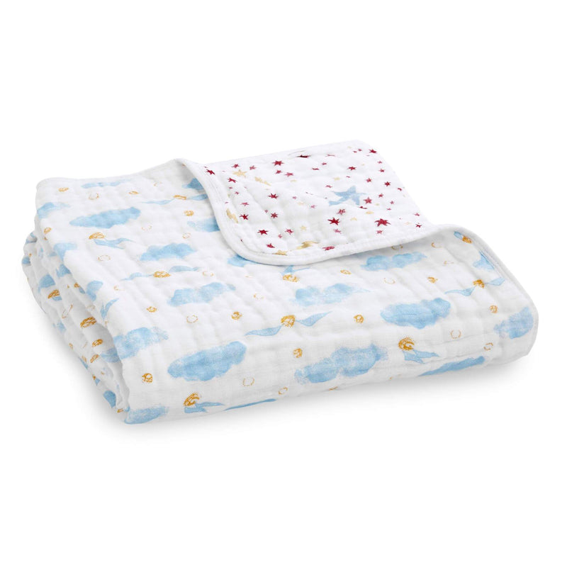 Aden & Anais Classic Dream Blanket - Harry Potter/Letters