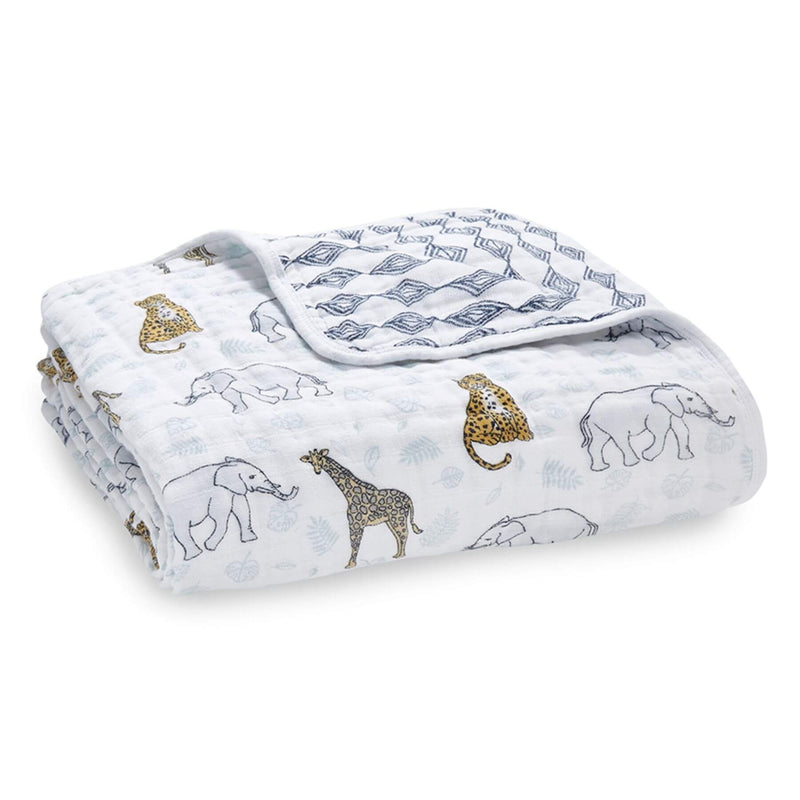 Aden & Anais Classic Dream Blanket - Jungle/Tropical