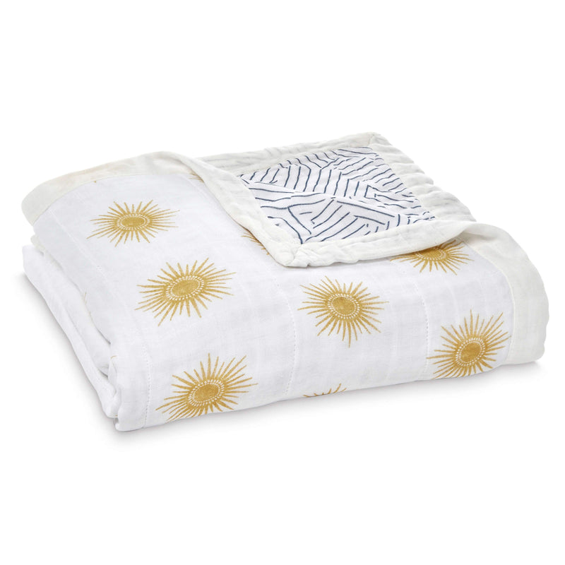 Aden & Anais Silky Soft Dream Blanket - Golden Sun