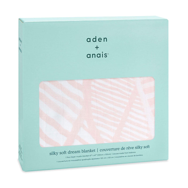Aden & Anais Silky Soft Dream Blanket - Island Getaway/Leaves