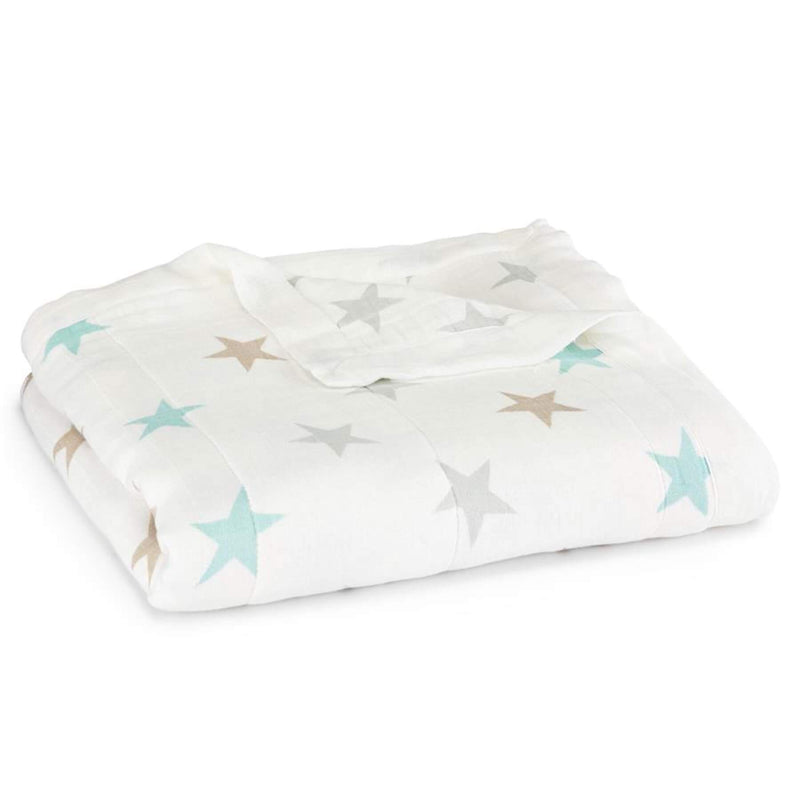 Aden & Anais Silky Soft Dream Blanket - Milky Way