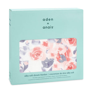 You added <b><u>Aden & Anais Silky Soft Dream Blanket - Watercolour Garden/Roses</u></b> to your cart.