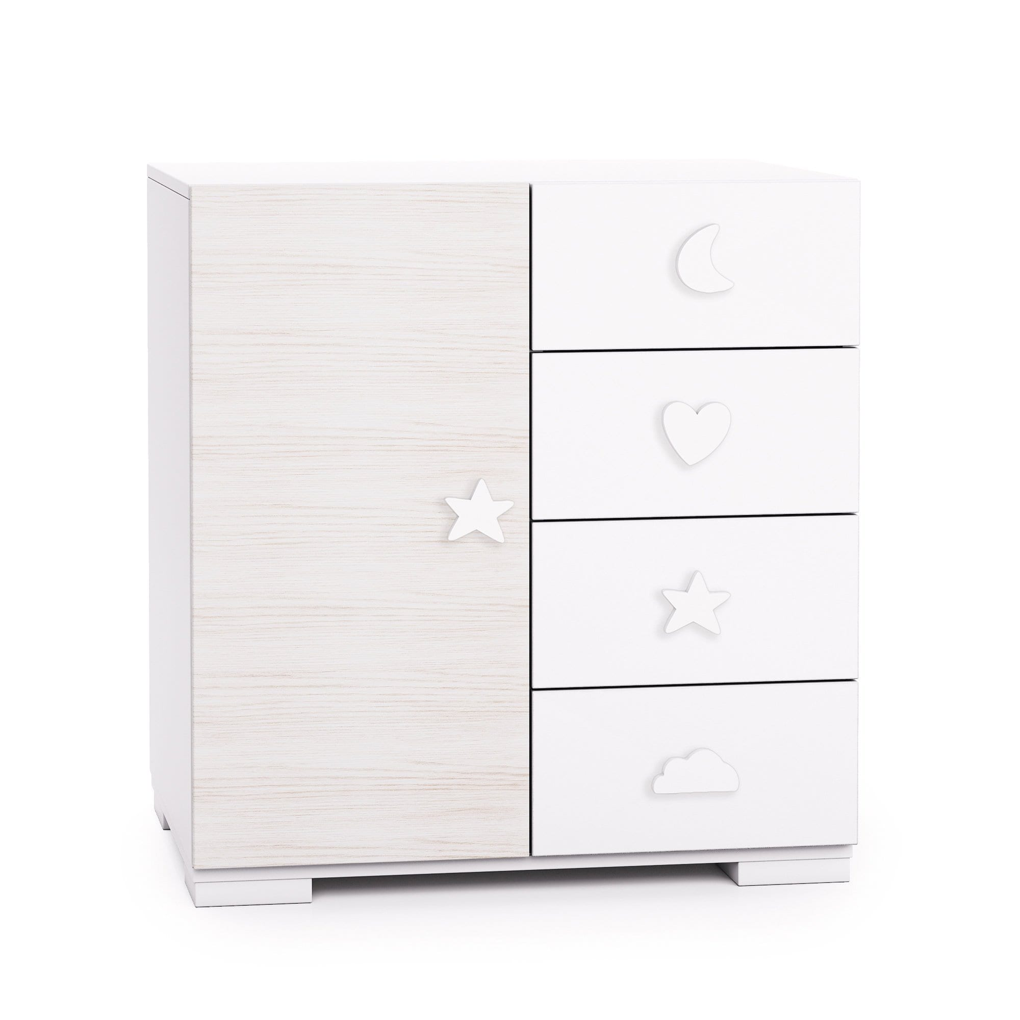 Alondra Infantil Bubble 4 Drawer Chest - huggle