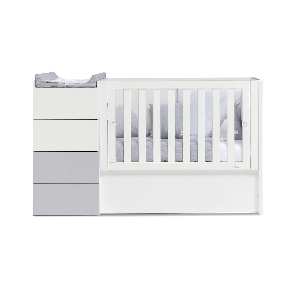 Alondra Infantil Just Even Convertible Crib - huggle