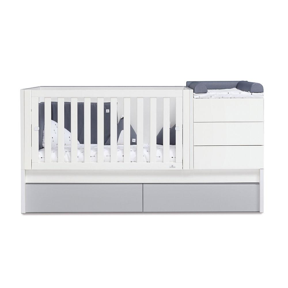 Alondra Infantil Zero Even Convertible Crib - huggle